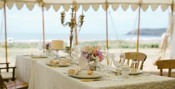 Outdoor Wedding Venues In Devon Top 5 From Tents Amp Events