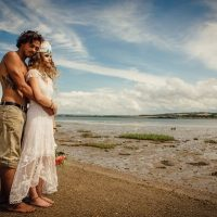 beach weddings north devon braunton crow point