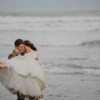 coastal beach weddings north devon