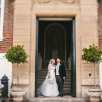 Marquee hire  styling Devon country house wedding 3