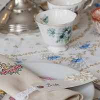 Vintage wedding fair devon vintage crockery