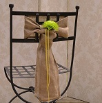 marquee-styling-devon-competition Hessian chair sashes