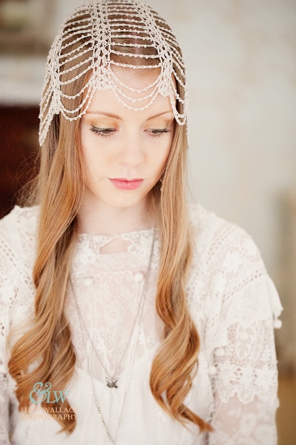 Arts and Crafts wedding headdress