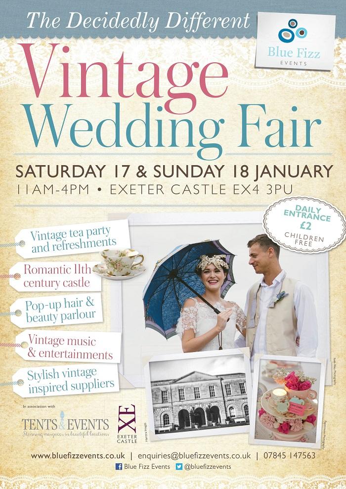 The Decidedly Different Vintage Wedding Fair Exeter Devon