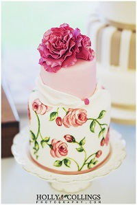 vintage wedding cakes devon 2