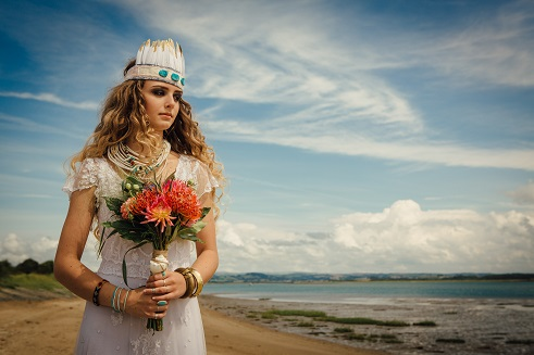A Wedding by the Sea - The Barefoot Bride - Tents & Events