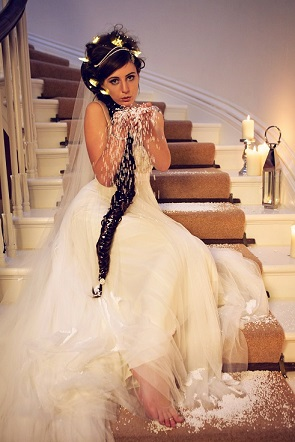 Ethereal wedding devon hallsannery