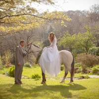 Festival wedding Cornwall