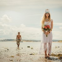 Festival wedding look