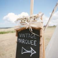 Festival wedding marquee