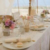 Vintage weddings beach