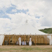 Vintage weddings tent
