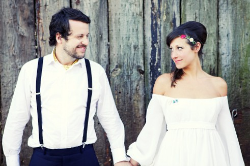 Boho wedding Devon, Cornwall, Somerset groom