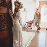 Boho wedding dress Devon, Cornwall, Somerset 2