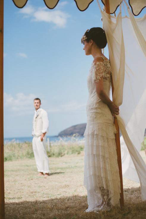 Boho wedding dresses Devon, Cornwall, Somerset - Tents & Events
