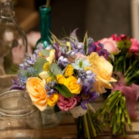 Boho wedding flowers devon somerset cornwall 3