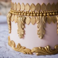 Wedding cake detail at Mamhead House and Castle