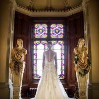 Bride at Mamhead House and Castle