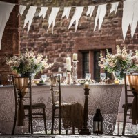 Mamhead Flowers and bunting