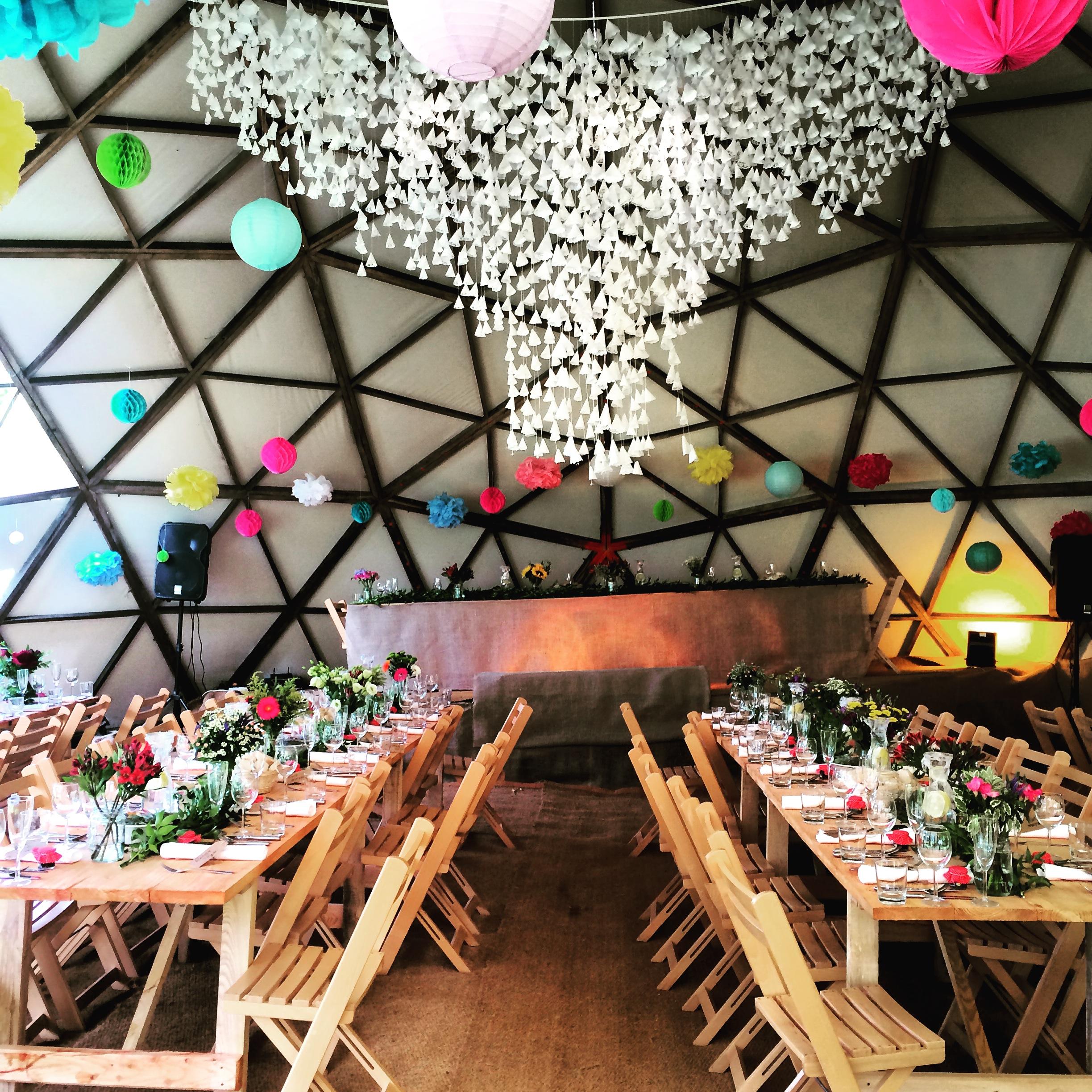 Rustic festival wedding venue north devon tents events photo 3 junglespirit Image collections