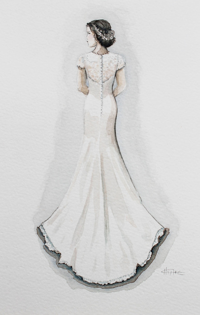 watercolor wedding dress 7452841 watercolour wedding tents amp events 8368