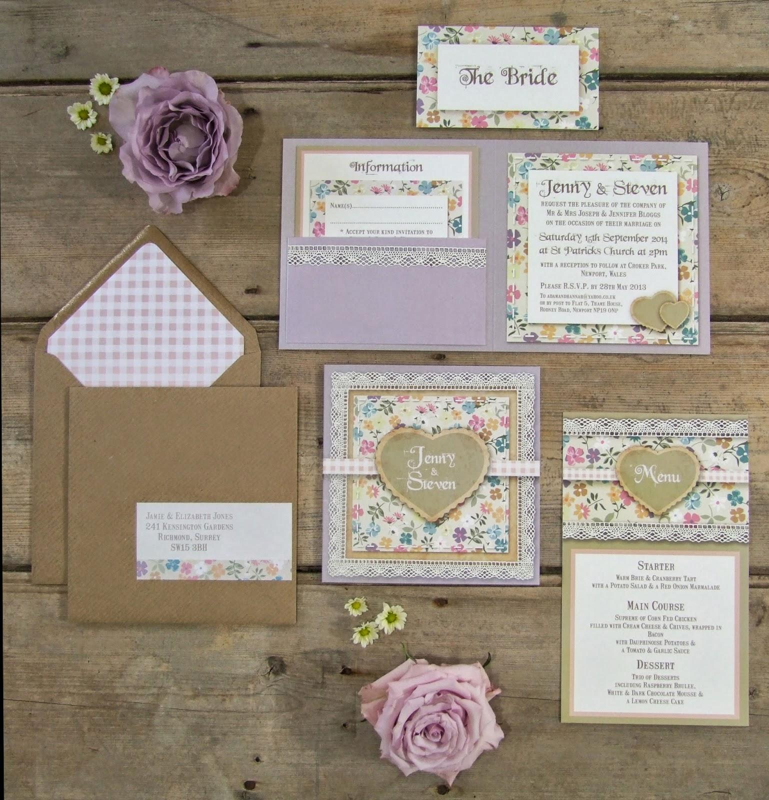 knots-and-kisses-wedding-stationery-english-country-garden-floral ...