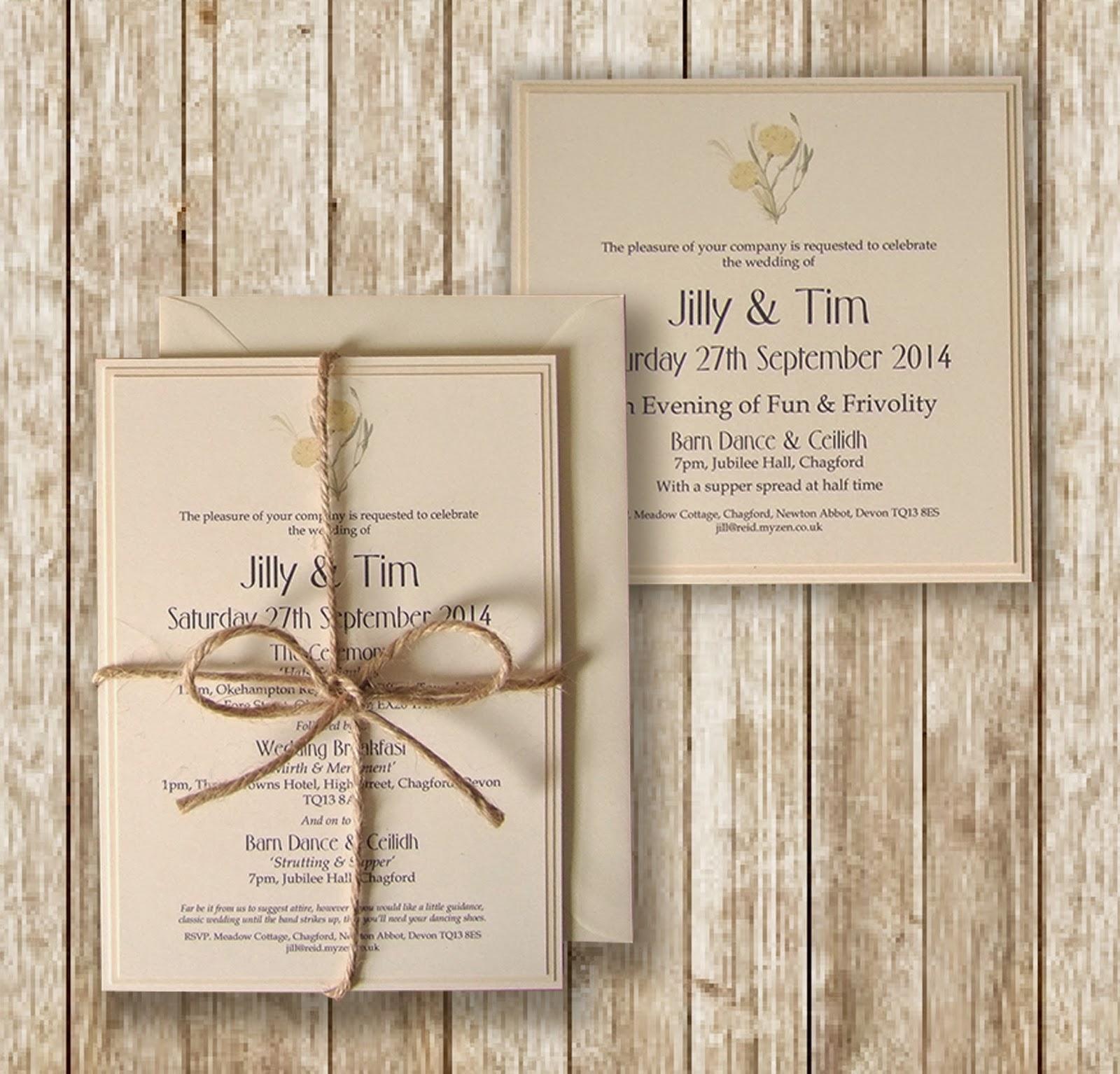 knots-and-kisses-wedding-stationery-rustic-lemon-cream-wedding ...