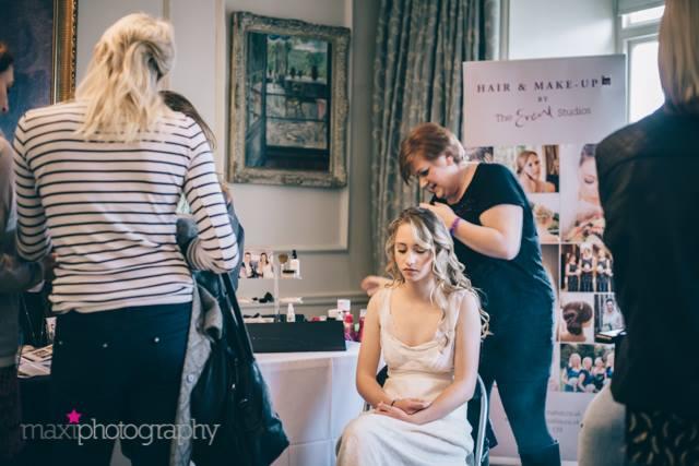 hair & make up boudior