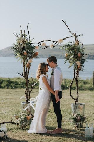 Wedding celebration ceremonies in Devon & Cornwall:
