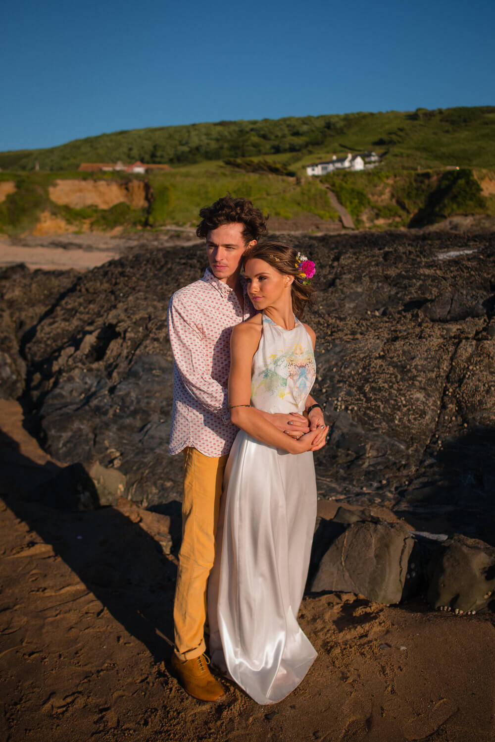 devon beach wedding (33)